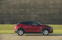 Nissan Juke, profile, dynamic