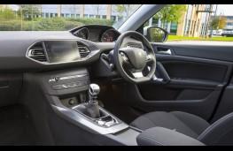 Peugeot 308, interior