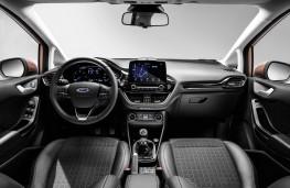 Ford Fiesta Titanium, 2017, interior