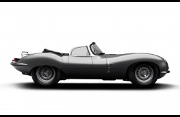 Jaguar XKSS, 2016, render of new model