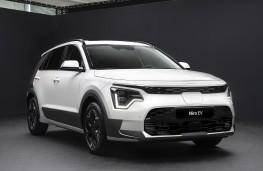 Kia Niro EV Concept, 2018, front