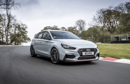 Hyundai i30 N Performance, 2017, front, action, track