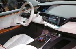 Kia Niro EV Concept, 2018, interior