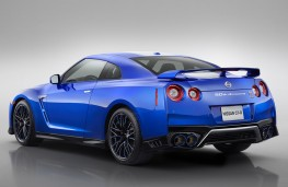 Nissan GT-R 50th Anniversary edition rear threequarters