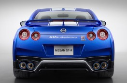 Nissan GT-R 50th Anniversary edition rear