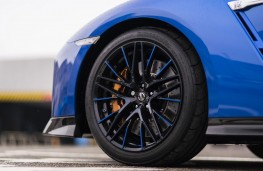 Nissan GT-R 50th Anniversary edition wheel detail