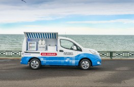 Nissan ice cream van 1