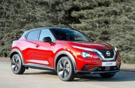 Nissan Juke 2020 front action