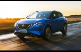 Nissan Qashqai, action front