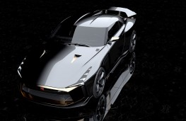 Nissan GT-R50 by Italdesign front  overhead