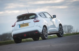 Nissan Juke Nismo RS, rear action