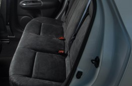 Nissan Juke Nismo RS, rear seats