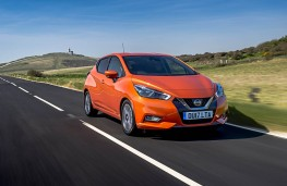 Nissan Micra, front action