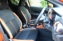 Nissan Micra, front seats