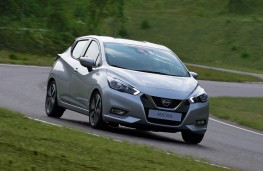 Nissan Micra 2017 front action