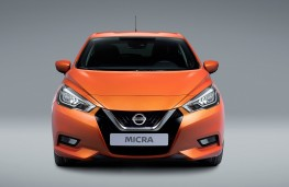 Nissan Micra 2017 front static