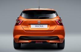 Nissan Micra 2017 rear static