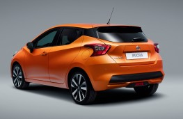 Nissan Micra 2017 rear threequarter static