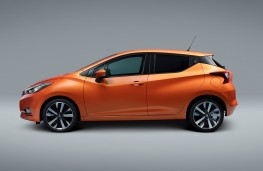 Nissan Micra 2017 side static