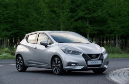 Nissan Micra 2017 silver