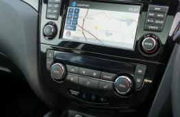 Nissan Qashqai, dash detail