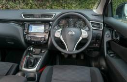 Nissan Qashqai, dashboard