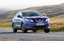 Nissan Qashqai, front action 2