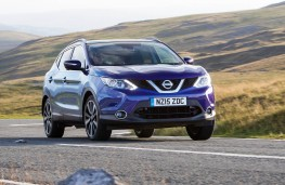 Nissan Qashqai, front action