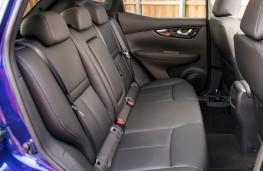 Nissan Qashqai, rear seats