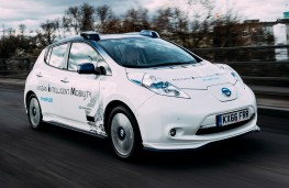 Nissan Leaf, 2017, Intelligent Mobility London trials