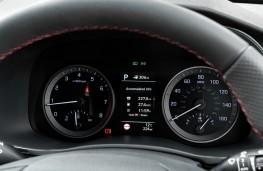 Hyundai Tucson N-Line, 2019, instrument panel