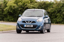 Nissan Micra, front, action