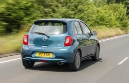 Nissan Micra, rear