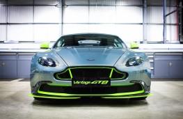 Aston Martin Vantage GT8, nose