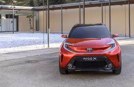 Toyota Aygo X prologue, 2021, nose