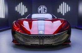 MG Cyberster, 2021, nose