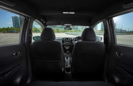 Nissan Note Black Edition, interior