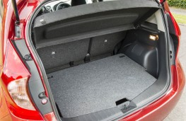 Nissan Note, boot