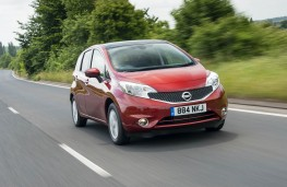Nissan Note, front, action