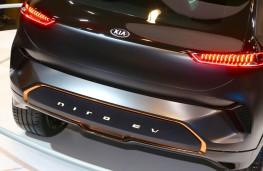Kia Niro EV Concept, 2018, rear, detail