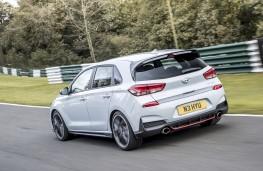 Hyundai i30 N Performance, 2017, rear, track