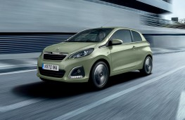Peugeot 108, 70 plate, front