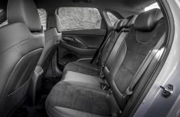 Hyundai i30 N Performance, 2017, rear seats