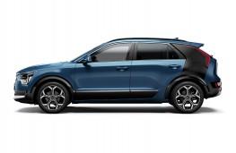 Kia Niro EV Concept, 2018, side