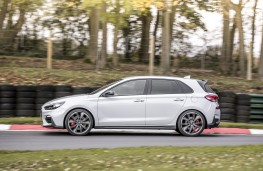 Hyundai i30 N Performance, 2017, side, action, track