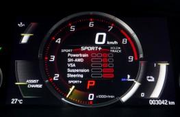 Honda NSX, 2016, power display dial