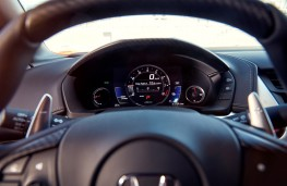 Honda NSX, 2016, instruments
