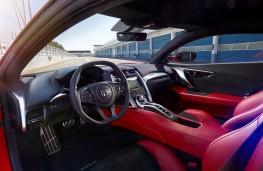 Honda NSX, 2016, interior