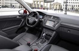 Volkswagen Tiguan, 2016, cabin