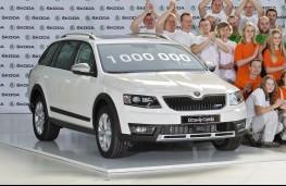 Skoda Octavia, one millionth car